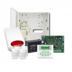 Zestaw alarmowy Integra 24  KLCD-S AQUAx4 SP-5010 12V 7ah